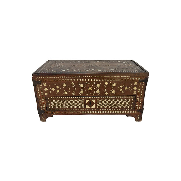 18th Century Spanish Inlaid Box 32289