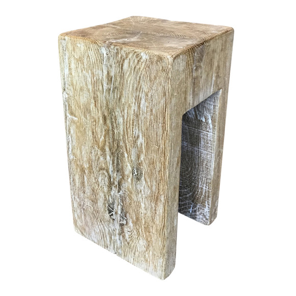 Limited Edition Solid Oak Table/Stool 35756