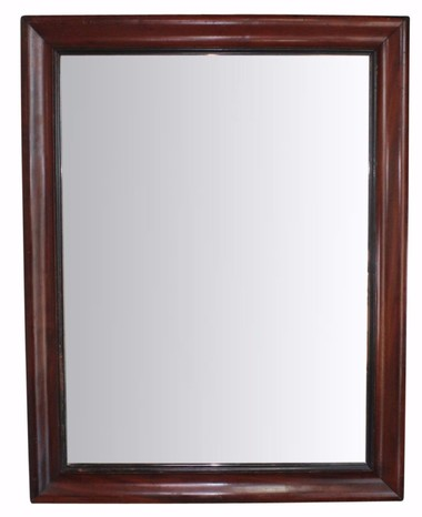 French Walnut Mirror 31333