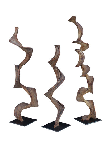 Set OF (3) Primitive Sculptures 29079