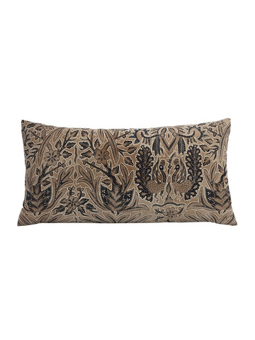 Limited Edition Block Print Textile Pillow 34193