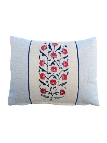 18th Century Turkish Embroidery Pillow 31484