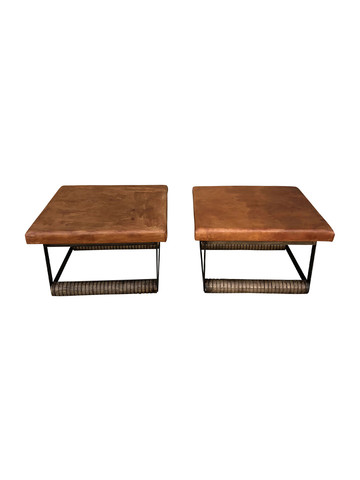 Pair of Lucca Studio Rudd Coffee Tables 35698