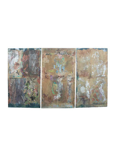 Large Scale Mid Century Triptych 31444