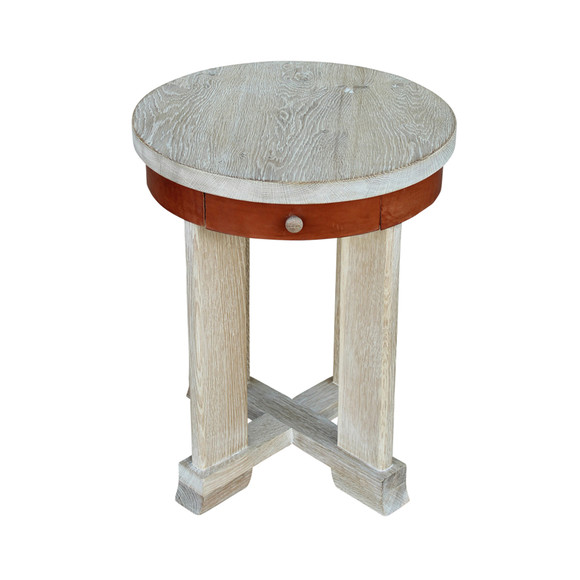 Limited Edition Oak Side Table 34122