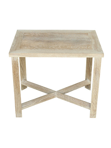 Limited Edition Oak Rectangle Side Table 27407