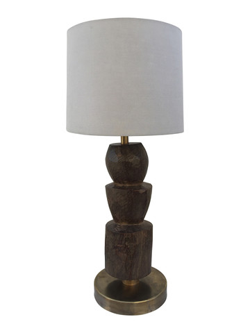 Limited Edition African Totem Lamp 33726