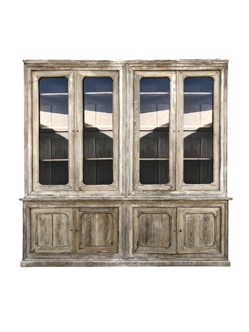 19th Century French Oak Cabinet 35727