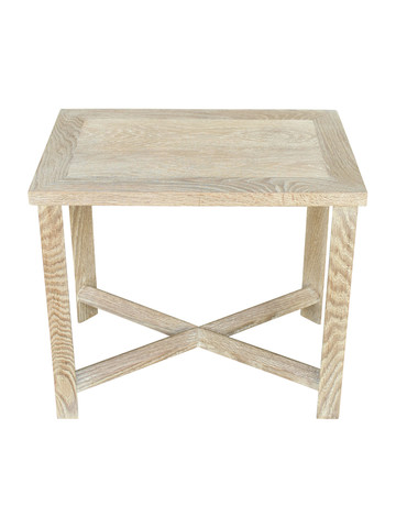 Limited Edition Oak Rectangle Side Table 27384
