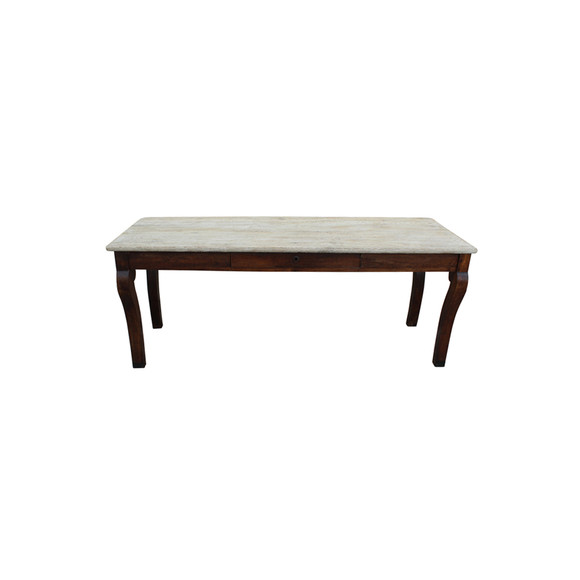 French Walnut Console Table 26601