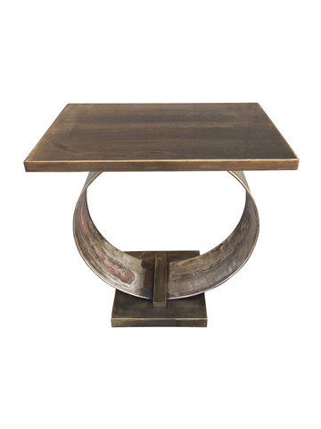 Lucca Limited Edition Abby Side Table (Brass Top) 34431