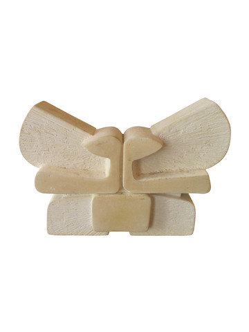French Modernist Stone Sculpture 34979