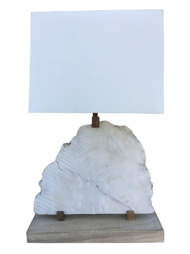 Limited Edition Alabaster Lamp 36212