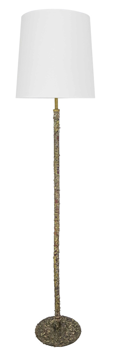French Copper Floor Lamp 18336