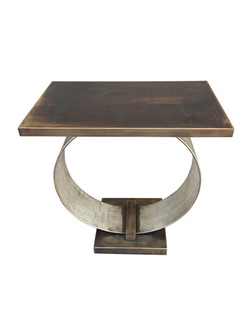 Lucca Limited Edition Abby Side Table (Brass Top) 34432