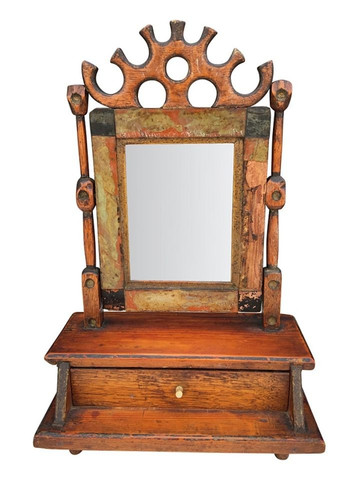 19th Century Drawer with Mirror 31897