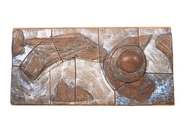 Danish Stoneware Wall Relief 17248