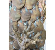 Large Scale Fantastical French Brass Shell Encrusted Sconces 35974