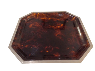 French Faux Tortoise Tray 31873