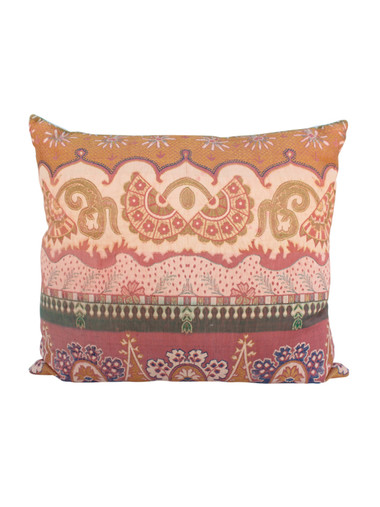19th Century French Textile Pillow 26676