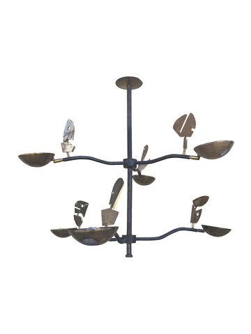 Limited Edition Mixed Metal Chandelier 34957