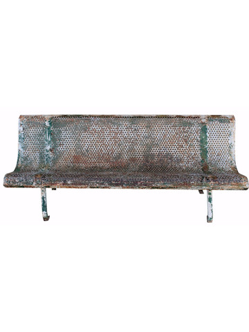 French Mid Century Iron Bench 31335