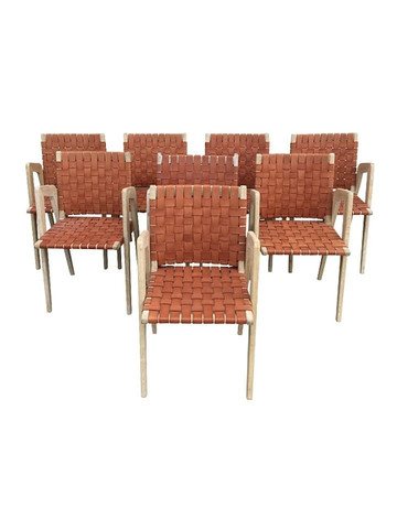 Set of (8) Lucca Studio Giles Chairs 36959