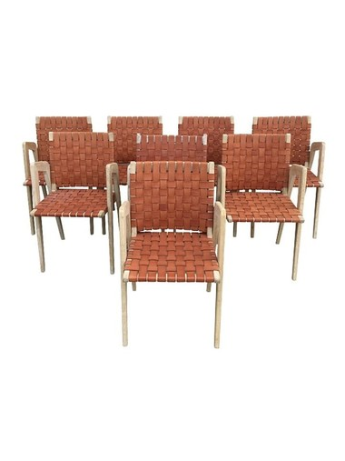Lucca Studio Giles Chairs Set of (8) 30931