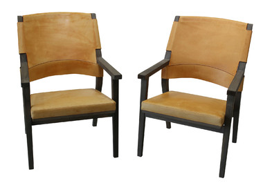 Pair of Vintage Swedish Lounge Chairs 30006