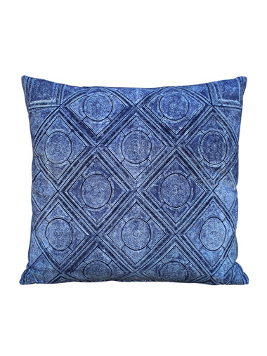 Limited Edition Vintage Batik Textile Pillow 26908