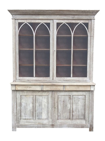 19th Century French Oak Cabinet 32838