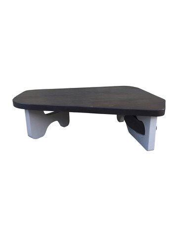 Organic Modern Coffee Table with Unusual Base 33691