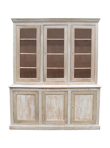 Large 19th Century Belgian Oak Cabinet 35944