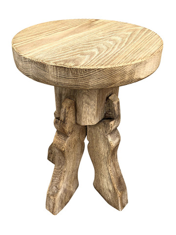 Belgian Oak Side Table 35911