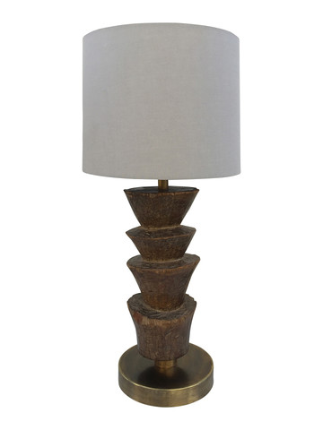 Limited Edition African Totem Lamp 33570