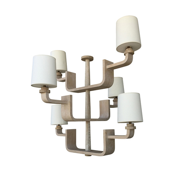 Lucca Studio Kyle Chandelier (6) Arm 31687