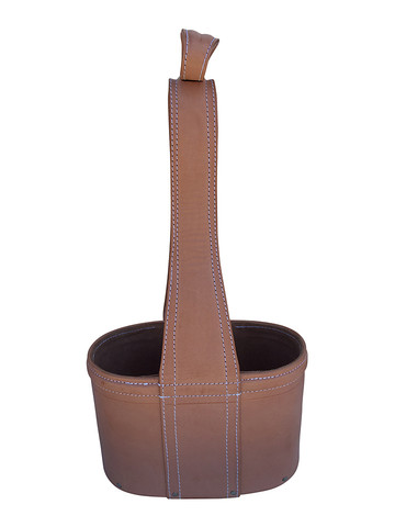 Danish Leather Wine Carrier 31895