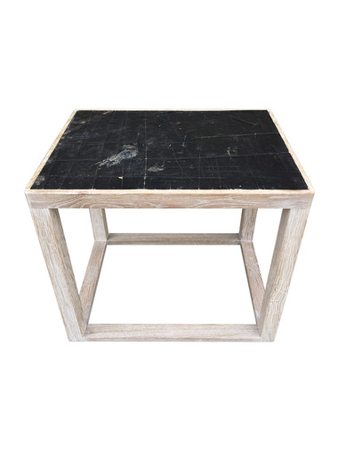 Limited Edition Side Table With  Industrial Top 33958