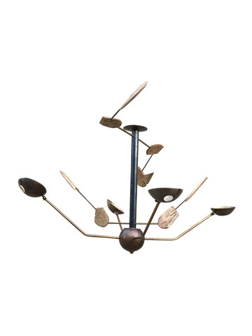 Limited Edition Mixed Element Chandelier 33626