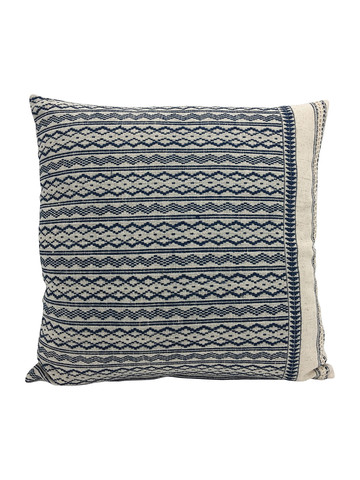 Limited Edition Tribal Embroidery Textile Pillow 34468