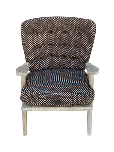 Single Guillerme et Chambron Armchair 27037