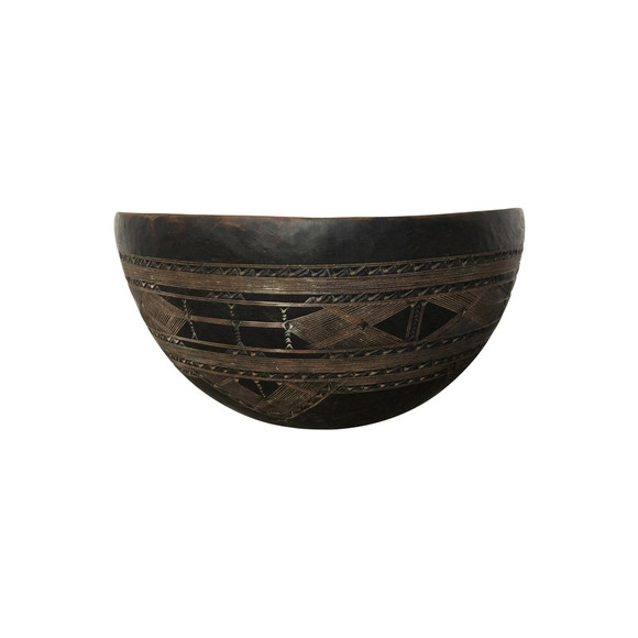 Antique African Wood Bowl 38063