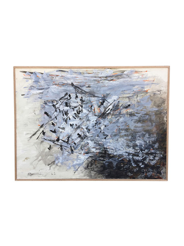 Danish Abstract Painting 35064