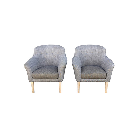 Pair of Lucca Studio Bergen Chairs 31773