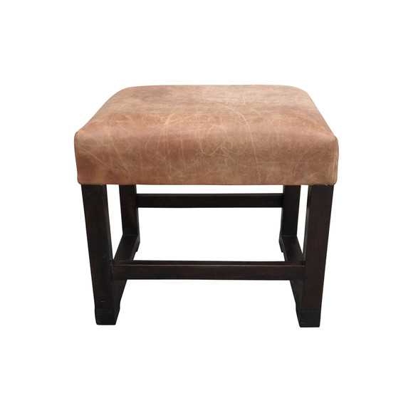 Belgian Leather Bench 30172