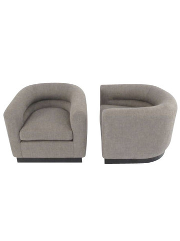 Lucca Studio Pair of Kennedy Chairs with Swivel Base 34727