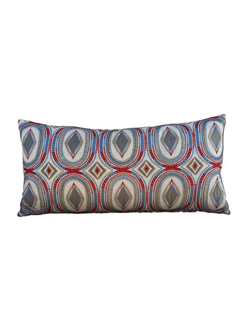 Limited Edition Embroidery Lumbar Pillow 32884