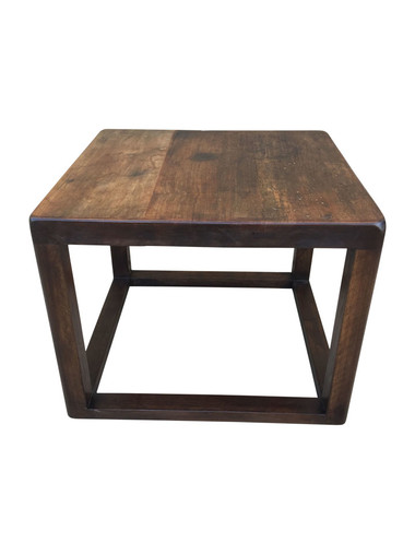Limited Edition Walnut Cube Coffee Table 37727