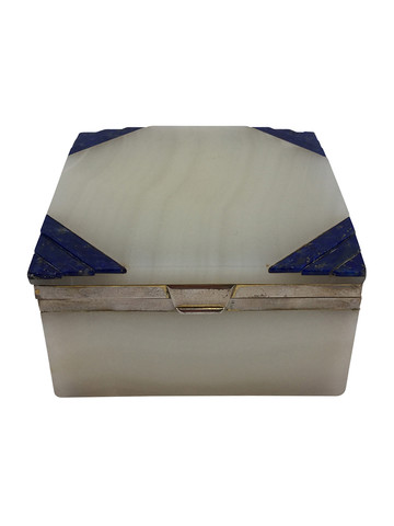 Alabaster and Lapis Box 33413
