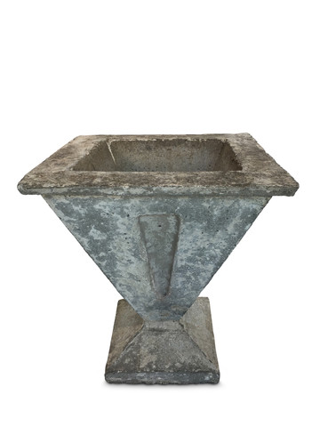 French Deco Cement Planter 19819